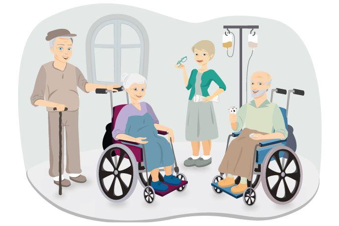 RSA - Casa di Riposo - Chi Sono Gli Ospiti, Autonomi e assistenza per demenza senile, Alzheimer e altre patologie.